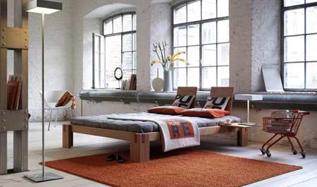 bettrahmen schlicht schn aus massiver buche metallfrei und erschwinglich. Black Bedroom Furniture Sets. Home Design Ideas
